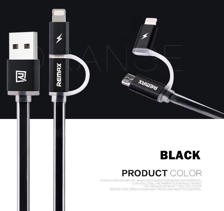 Remax Aurora Plochý USB Kabel S Apple Lightning Konektorem