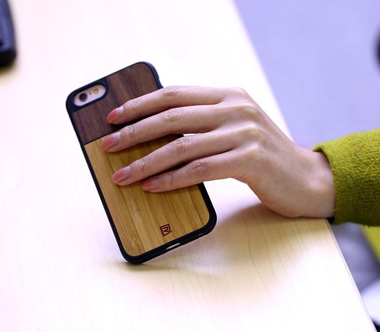Remax Tanyet Bamboo dřevěný ochranný kryt pro Apple iPhone 6 a7f744156ff