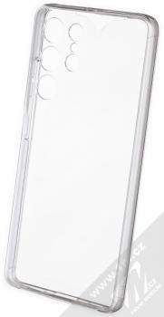 1Mcz 360 Full Cover sada ochranných krytů pro Samsung Galaxy S21 Ultra průhledná (transparent) komplet zezadu