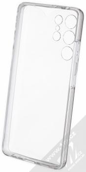 1Mcz 360 Full Cover sada ochranných krytů pro Samsung Galaxy S21 Ultra průhledná (transparent) komplet