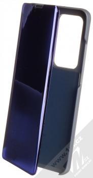 1Mcz Clear View flipové pouzdro pro Huawei P40 Pro modrá (blue)