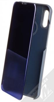 1Mcz Clear View flipové pouzdro pro Huawei Y6 (2019) modrá (blue)