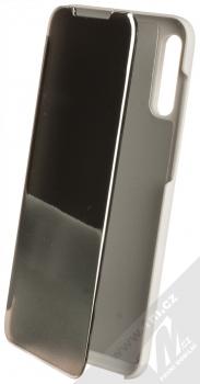1Mcz Clear View flipové pouzdro pro Samsung Galaxy A70 stříbrná (silver)