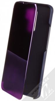 1Mcz Clear View flipové pouzdro pro Xiaomi Redmi 9 fialová (purple)