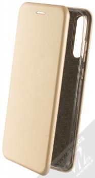 1Mcz Elegance Book flipové pouzdro pro Huawei Y6p zlatá (gold)