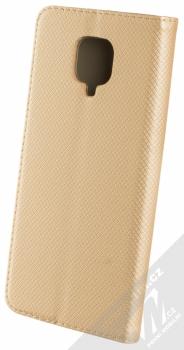 1Mcz Magnet Book Alternativní flipové pouzdro pro Xiaomi Redmi Note 9 Pro, Redmi Note 9 Pro Max, Redmi Note 9S zlatá (gold) zezadu