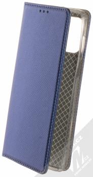 1Mcz Magnet Book flipové pouzdro pro Motorola Moto G100 tmavě modrá (dark blue)