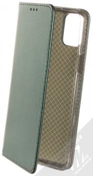1Mcz Magnetic Book flipové pouzdro pro LG K42 tmavě zelená (dark green)