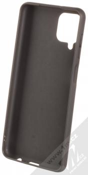 1Mcz Matt TPU ochranný kryt pro Samsung Galaxy A12 černá (black) zepředu