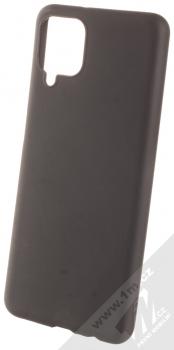 1Mcz Matt TPU ochranný kryt pro Samsung Galaxy A12 černá (black)