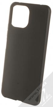1Mcz Matt TPU ochranný silikonový kryt pro Xiaomi Mi 11 Lite, Mi 11 Lite 5G černá (black)