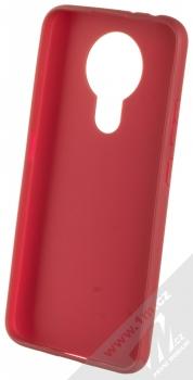 1Mcz Matt TPU ochranný silikonový kryt pro Nokia 3.4 tmavě červená (dark red) zepředu