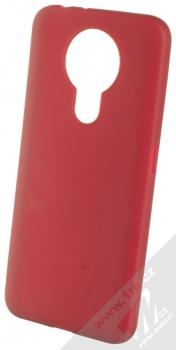1Mcz Matt TPU ochranný silikonový kryt pro Nokia 3.4 tmavě červená (dark red)