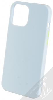 1Mcz Solid TPU ochranný kryt pro Apple iPhone 12 Pro Max světle modrá (light blue)