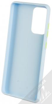 1Mcz Solid TPU ochranný kryt pro Samsung Galaxy A72, Galaxy A72 5G světle modrá (light blue) zepředu