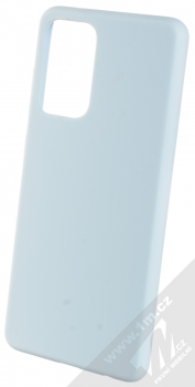 1Mcz Solid TPU ochranný kryt pro Samsung Galaxy A72, Galaxy A72 5G světle modrá (light blue)