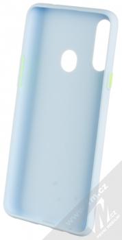 1Mcz Solid TPU ochranný kryt pro Samsung Galaxy A20s světle modrá (light blue) zepředu