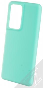 1Mcz Solid TPU ochranný kryt pro Samsung Galaxy S21 Ultra mátově zelená (mint green)