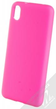 1Mcz Solid TPU ochranný kryt pro Xiaomi Redmi 7A sytě růžová (hot pink)
