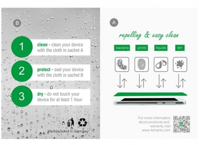 4smarts Liquid Glass Coating, ochranné tekuté sklo pro mobilní telefon, mobil, smartphone průhledná - vlastnosti