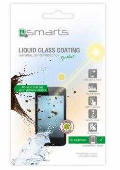 4smarts Liquid Glass Coating, ochranné tekuté sklo pro mobilní telefon, mobil, smartphone průhledná