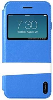USAMS Lange flip Apple iPhone 6 blue