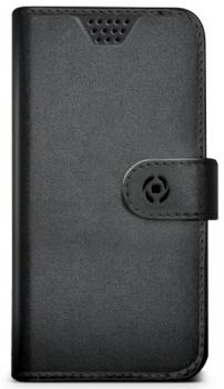 Celly Wally Unica XL univerzální flipové pouzdro pro mobilní telefon, mobil, smartphone černá (black)
