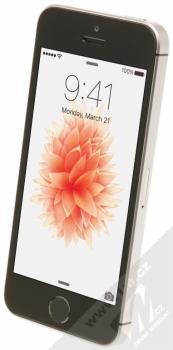 APPLE iPHONE SE 32GB šedá (space gray) šikmo zepředu