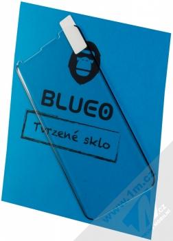 Blueo 5D Mr. Monkey 3D Curved Full AB Glue Cover Tempered Glass ochranné tvrzené sklo na kompletní zahnutý displej pro Samsung Galaxy S9 Plus černá (black)