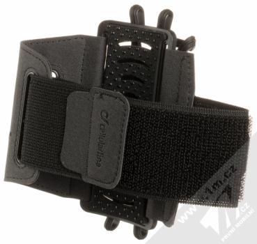 CellularLine Armband Spider sportovní pouzdro na paži pro telefony černá (black) zezadu