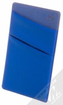 CellularLine Pocket samonalepovací kapsička na kartu a peníze modrá (blue)