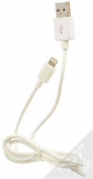 CellularLine USB Car Charger Kit 5W nabíječka do auta s USB výstupem 1A + USB kabel s Lightning konektorem pro Apple iPhone, iPod (licence MFi) bílá (white) komplet