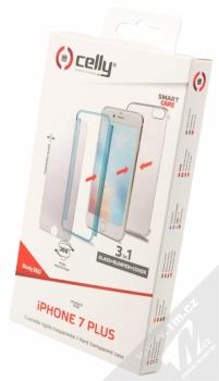 Celly Body360 ochranný kryt a tvrzené sklo pro Apple iPhone 7 Plus modrá (blue) krabička