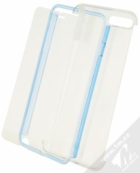 Celly Body360 ochranný kryt a tvrzené sklo pro Apple iPhone 7 Plus modrá (blue)