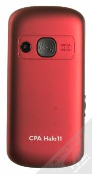 CPA HALO 11 červená (red) zezadu