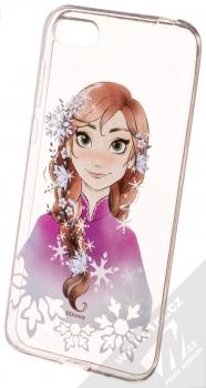 Disney Anna 001 TPU ochranný silikonový kryt s motivem pro Huawei Y5 (2018), Honor 7S průhledná (transparent)