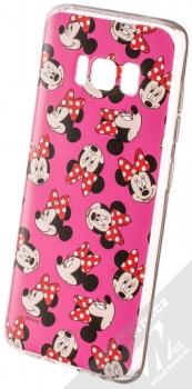 Disney Minnie Mouse 019 TPU ochranný silikonový kryt s motivem pro Samsung Galaxy S8 růžová (pink)