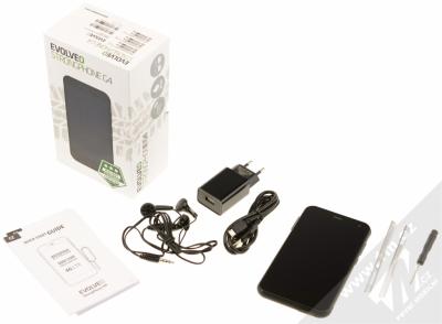 EVOLVEO STRONGPHONE G4 černá (black) balení