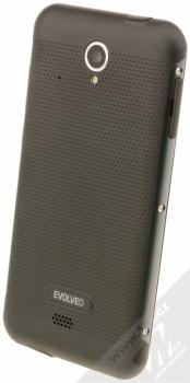 EVOLVEO STRONGPHONE G4 černá (black) šikmo zezadu