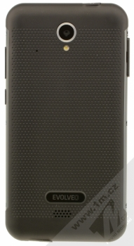 EVOLVEO STRONGPHONE G4 černá (black) zezadu