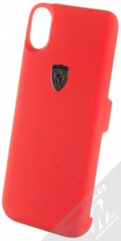 Ferrari Power Case ochranný kryt se záložní baterií 3000mAh pro Apple iPhone X, iPhone XS (FEOFOPCPXRE) červená (red)