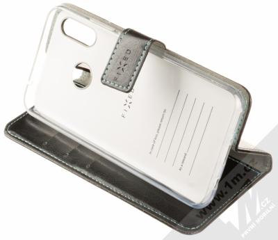 Fixed Opus flipové pouzdro pro Huawei Nova 3 černá (black) stojánek