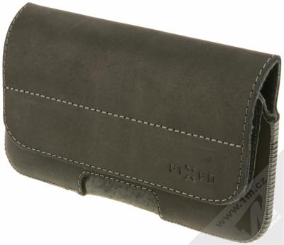 Fixed Posh 5XL horizontální pouzdro na opasek pro mobilní telefon, mobil, smartphone (FIXPOHP-001-5XL) černá (black)