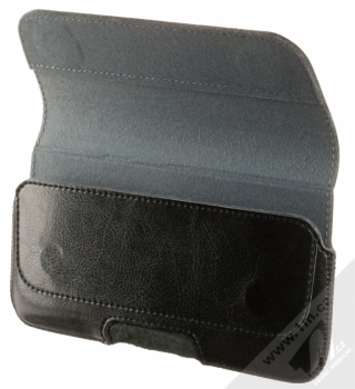 Fixed Sarif 5XL PLUS horizontální pouzdro pro mobilní telefon, mobil, smartphone (RPSFH-001-5XL+) černá (black) otevřené