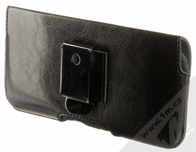 Fixed Sarif 5XL PLUS horizontální pouzdro pro mobilní telefon, mobil, smartphone (RPSFH-001-5XL+) černá (black) zezadu