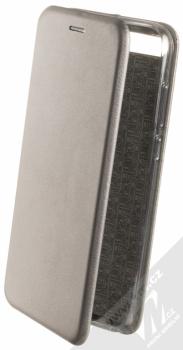 Forcell Elegance Book flipové pouzdro pro Huawei Y6 Prime (2018), Honor 7A kovově šedá (steel)