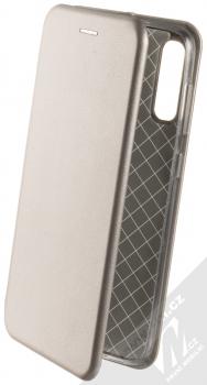 Forcell Elegance Book flipové pouzdro pro Samsung Galaxy A50, Galaxy A30s kovově šedá (steel)