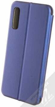 Forcell Elegance Book flipové pouzdro pro Samsung Galaxy A50 tmavě modrá (dark blue) zezadu