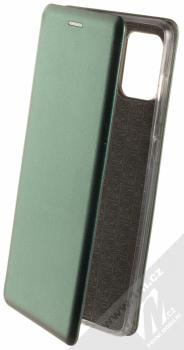Forcell Elegance Book flipové pouzdro pro Samsung Galaxy A71 tmavě zelená (dark green)