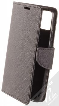 Forcell Fancy Book flipové pouzdro pro Apple iPhone 11 černá (black)